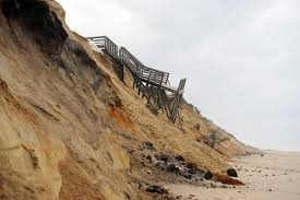 cape beaches bruised by winter weather news capecodtimes com