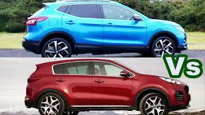 nissan rogue vs kia sorento 2018 nissan qashqai vs 2017 kia sportage driving and design youtube