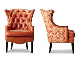 1231 18 kelly tufted wing chair leathercraft furniture