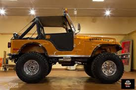 orange jeep classic 1977 jeep cj7 off road for sale 1712 dyler