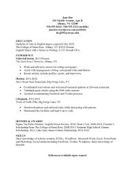 basic resume templates 2013 application letter sle for fresh graduate social work