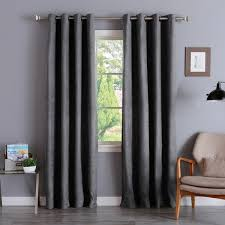 84 Inch Curtains Faux Suede Drapes Bedroom Curtains Siopboston2010