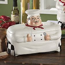 Marcel Home Decor Bistro Fat Chef Bread Box Canister Marcel Home Decor And Gift