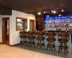 Modern Home Bars by Accessories Charming Ideas With Parquet Flooring And Brown Wooden