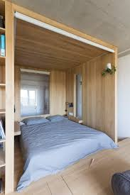 Bedrooms With Wood Floors by Super Small Studio Apartment Under 50 Square Meters Includes
