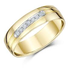 yellow gold rings and wedding bands yellow gold mens and
