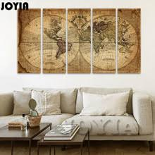 Map Home Decor Popular Map Canvas Buy Cheap Map Canvas Lots From China Map Canvas