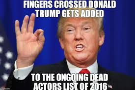 Fingers Crossed Meme - image tagged in fuck donald trump imgflip