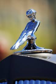 1937 packard limousine ornament photograph by reger