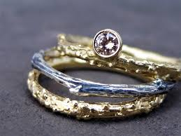 Non Traditional Wedding Rings by A Glittery Affair Ten Dazzling Non Traditional Engagement Rings