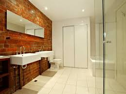 Feature Wall Bathroom Ideas 38 Best Brick In The Bathroom Images On Pinterest Brick Bathroom