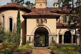 7 small mediterranean house exterior paint colors this one story