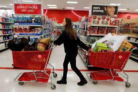 target black friday time 30 thoughts college girls have every time they go to target