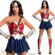 Wonder Woman Costume Ladies Wonder Woman Costume Official Batman V Superman Fancy