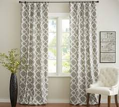Ebay Pottery Barn Drapes Fancy Plush Design Patterned Curtains Trene Pair Of Yellow 145 X