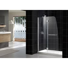 dreamline showers aqua hinged shower door