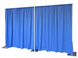 Black Stage Curtains For Sale Amazon Com Pipe And Drape Backdrop 8ft X 20ft No Drapes