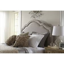 awesome pretty shabby chic upholstered headboard king bedroomi net