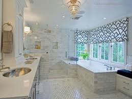 ideas for bathroom window curtains no curtain window treatments shower modern pics of