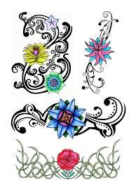 tattoo floral designs free download clip art free clip art