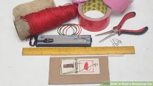 Instructions On How To Make A Toy Box by How To Build A Mousetrap Car With Pictures Wikihow