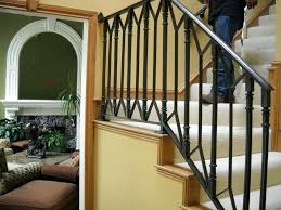 interior railings home depot wrought iron indoor railing golbiprint me