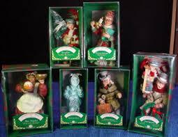 lot of 6 kurt sadler a carol charles dickens ornaments
