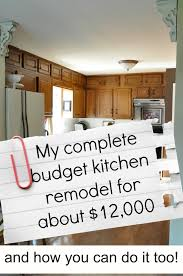 remodeling kitchen cabinets on a budget my complete kitchen remodel story for about 12 000 jennifer