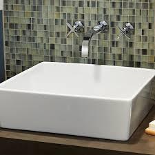 Bathroom Sink Tile Loft Above Counter Bathroom Sink American Standard