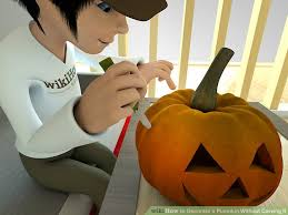 Pumpkin Decorating Without Carving 4 Ways To Decorate A Pumpkin Without Carving It Wikihow