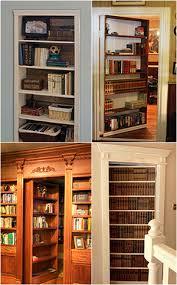 Diy Bookcase Door How To Build A Secret Bookcase Door