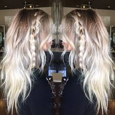 platinum hairstyles with some brown pin by bre rose haller on beauty hair pinterest hair style