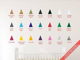 autocollant chambre bébé triangle gris autocollants muraux stickers chambre bébé appliqué
