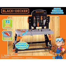 Toddler Tool Benches - shop black u0026 decker 72 piece kid u0027s tool kit at lowes com