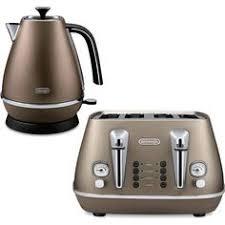 Deloghi Toaster De U0027longhi Distinta 4 Slice Toaster And Kettle Bundle Copper