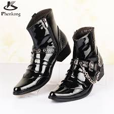 cheap leather motorcycle boots online get cheap leather motorcycle vintage boots aliexpress com