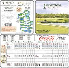 Estero Florida Map by Stoneybrook Actual Scorecard Course Database