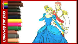 coloring pages for girls how to color disney princess cinderella