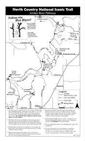 Michigan River Map by Jordan River Pathway Loop Jordan Valley 45 Chapter