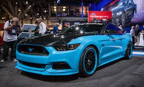 modified sports cars ford previews first two modified 2015 mustangs for sema u2013 news