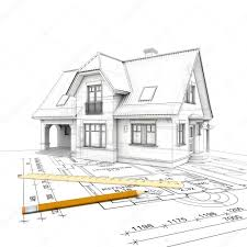 Project House by House Project Wireframe U2014 Stock Photo Imagewell 25076225