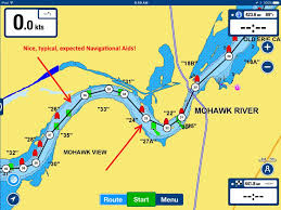 Map Of The Erie Canal Navigating The Erie Canal