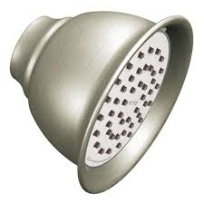 moen 602sepbn brushed nickel pressure balanced shower system with