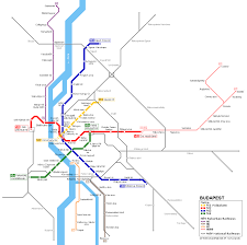 Vienna Metro Map by Budapest Metro Map Urbanrail Net Danube River Cruise