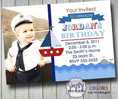 sailor birthday invitation 12 00 via etsy chase u0027s 1st