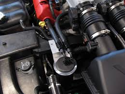 Dodge Viper Headers - oil catch can which one you got
