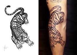 japanese style tiger search tattoos