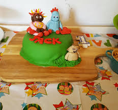 in the night garden 1st birthday cake u2026 i baked u2013 the mother edit