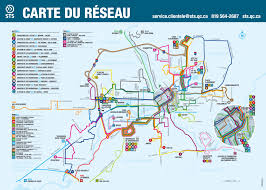 Bus Map Official Map Bus Routes Of Sherbrooke Quebec Transit Maps