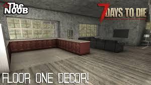 Floor Decore 7 Days To Die S03 E72 First Floor Decor Youtube